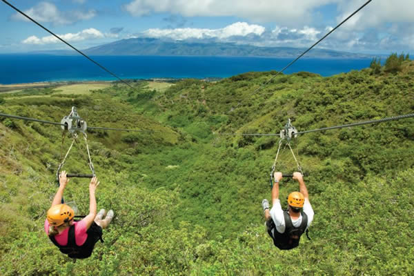 Hawai-Kapalua-zipline