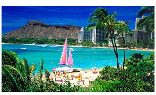 Waikik-Honolulu-Hawai
