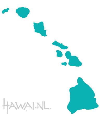 kaart hawai